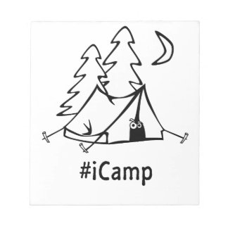 #Icamp camping tent Notepads