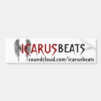 Icarus Beats bumper sticker