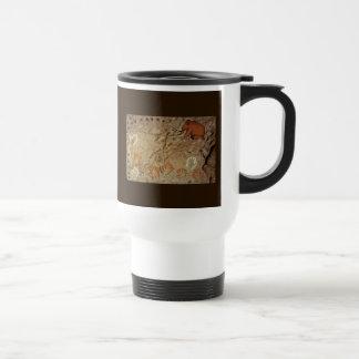 Ice Age Cave Art Stainless Steel Travel Mug
