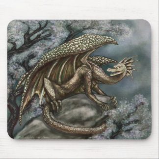 Ice Age Dragon Mouse Pad