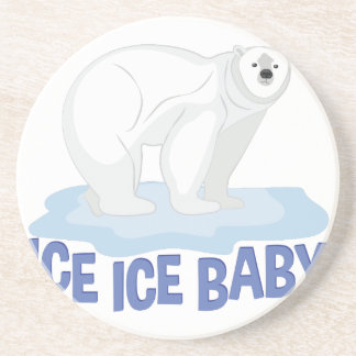 Ice Baby Beverage Coasters