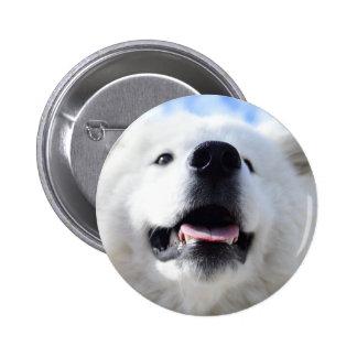 """""""Ice Bear"""" 001 2 Inch Round Button"""