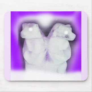 Ice bears mouse pad