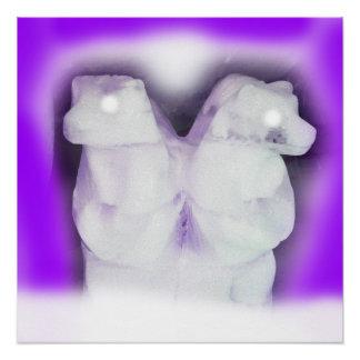 Ice bears poster