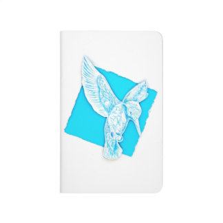 Ice Bird on notebook
