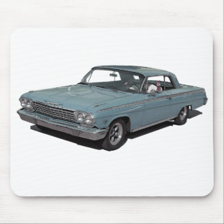 Ice Blue 62 Impala Mouse Pad