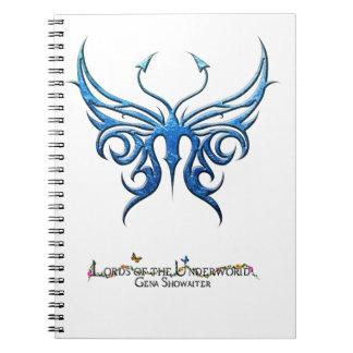 Ice blue butterfly notebook! notebooks