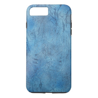 ice blue crackle phone cover case