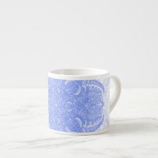 Ice Blue Fleury Espresso Cup