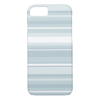 Ice blue stripes iPhone 7 case
