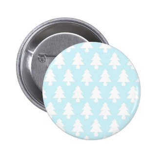 Ice Blue Trees 2 Inch Round Button