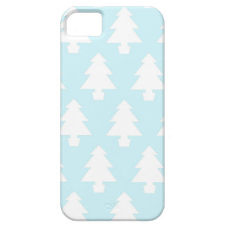 Ice Blue Trees iPhone 5 Cases