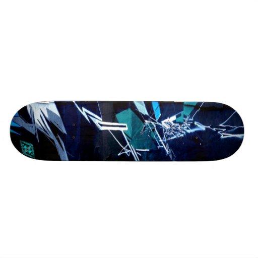 Ice Breaker Missile - Abstract Street Sk8 Art Skate Board Decks