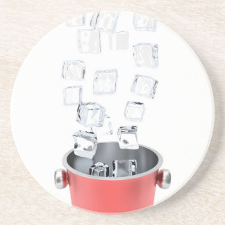 Ice bucket coaster