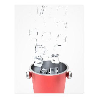 Ice bucket letterhead