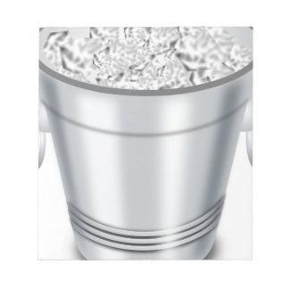 Ice Bucket Notepad