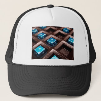 Ice candy cubes trucker hat