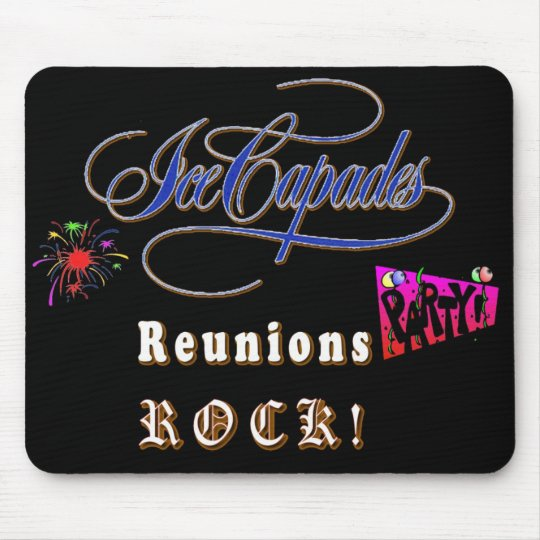 Ice Capade Reunions Rock Mouse Pad