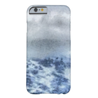 Ice capped mountains barely there iPhone 6 case