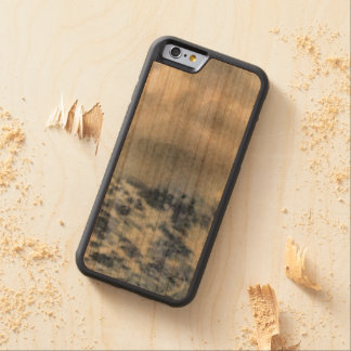 Ice capped mountains carved cherry iPhone 6 bumper case