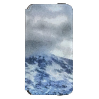 Ice capped mountains incipio watson™ iPhone 6 wallet case
