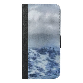 Ice capped mountains iPhone 6/6s plus wallet case