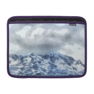 Ice capped mountains sleeve for MacBook air