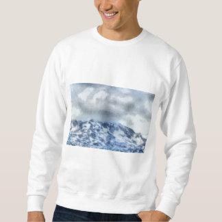 Ice capped mountains sweatshirt