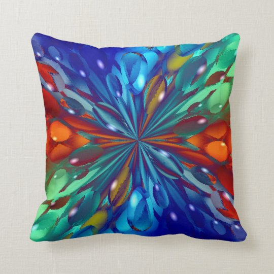 Ice Castles Throw Pillow