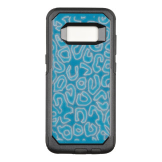 Ice Cheetah Abstract OtterBox Commuter Samsung Galaxy S8 Case