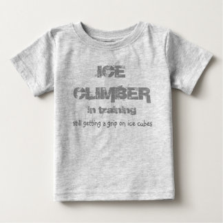 ice climber in training T shirt