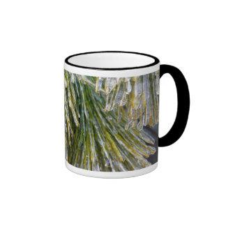 Ice-Coated Pine Needles Mug