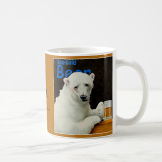 Ice cold bear coffee mug