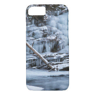Ice Covered Creek Bank iPhone 8/7 Case