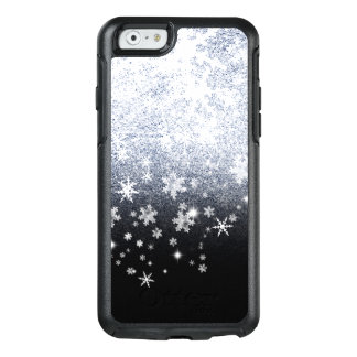 Ice Crackled Snowflakes OtterBox iPhone 6/6s Case