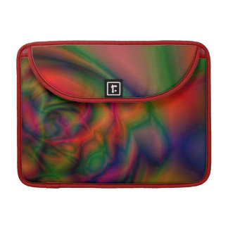 Ice cream abstract art sleeve for MacBook pro