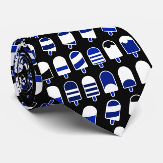 Ice Cream All Over – Colorful Repeating Pattern Tie