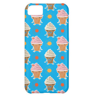 ice cream and sun bath pattern iPhone 5C cover