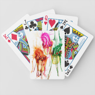 Ice Cream Art 2 Bicycle Playing Cards