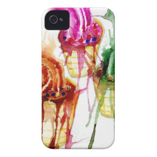 Ice Cream Art 2 iPhone 4 Case