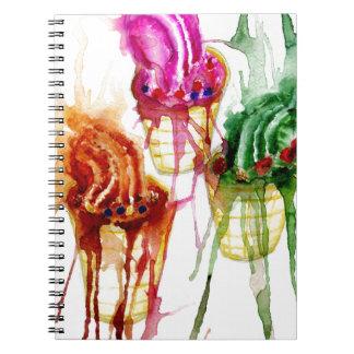 Ice Cream Art 2 Notebooks