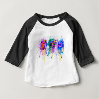 Ice Cream Art 3 Baby T-Shirt