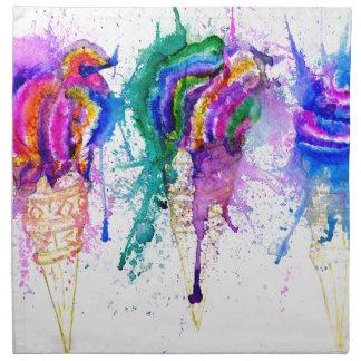 Ice Cream Art 3 Napkin