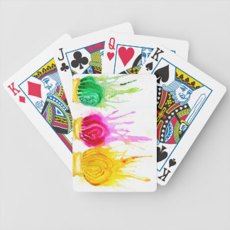 Ice Cream Art Bicycle Playing Cards