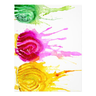 Ice Cream Art Letterhead