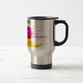 Ice Cream Art Travel Mug