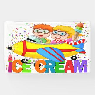 ICE Cream Banner (Airplane Series)