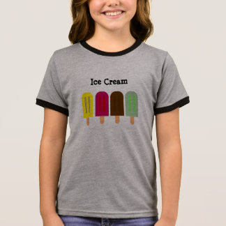 Ice cream bar ringer T-Shirt