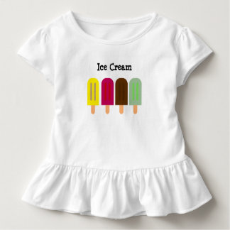 Ice cream bar toddler t-shirt