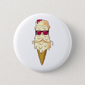 Ice Cream Beard 2 Inch Round Button
